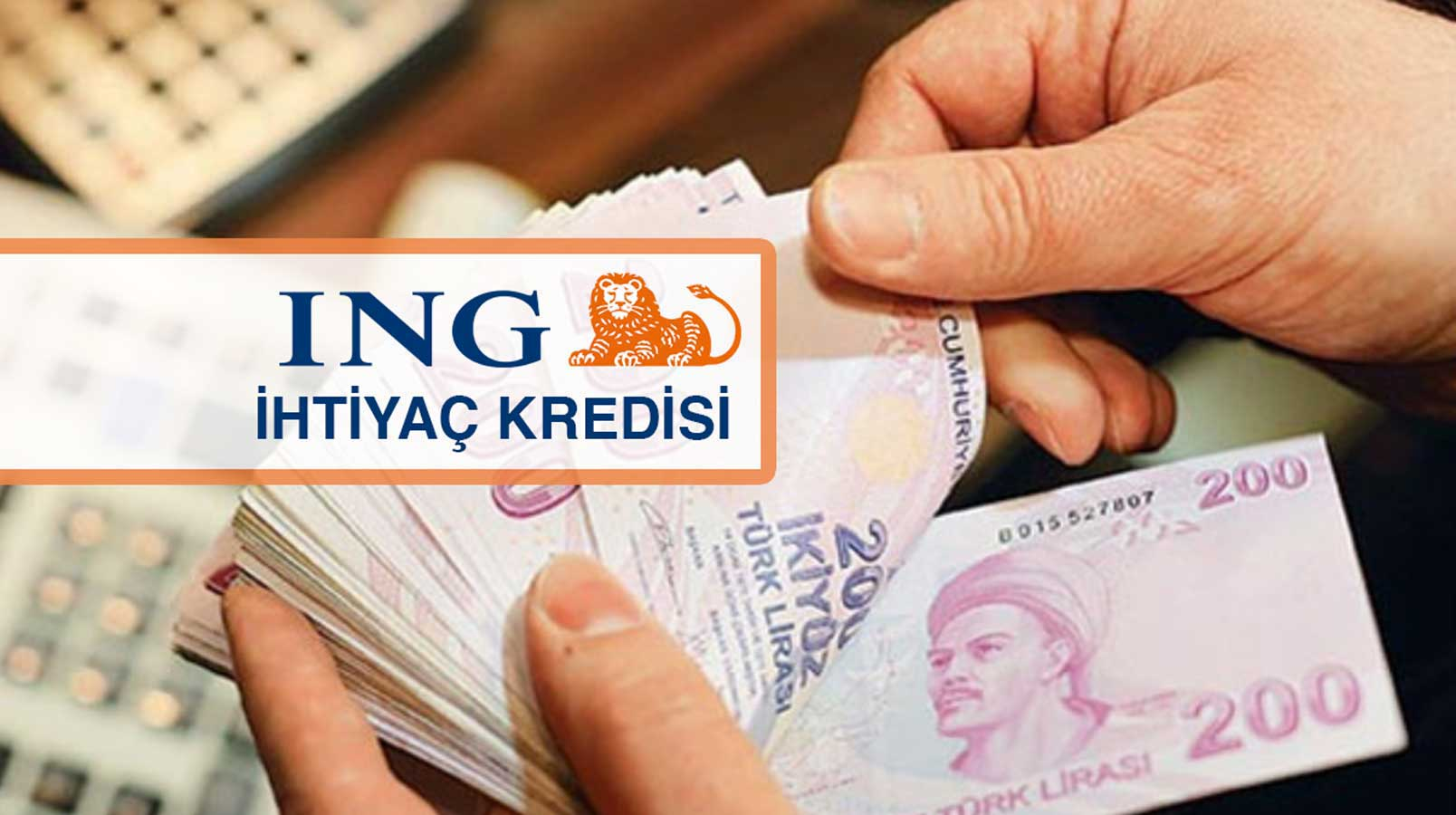 ING Bank 60 Ay Vadeli Avantajlı İhtiyaç Kredisi