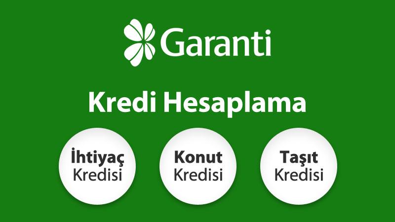 Garanti Bankası İhtiyacınıza Göre En Uygun İhtiyaç Kredisi