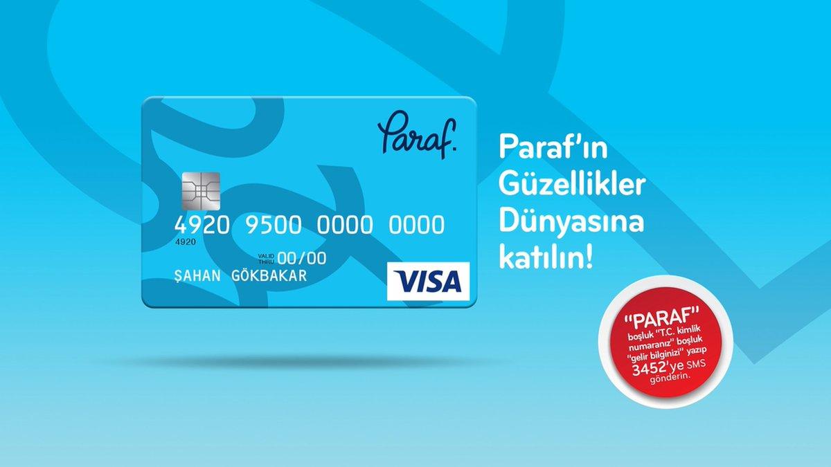 Halk Bankası Paraf Kart Anında Başvuru
