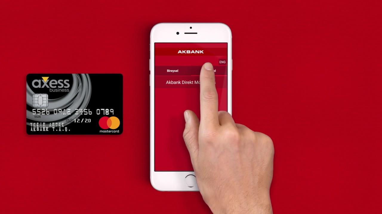 Akbank Kredi Kartınız Ayağınıza Kadar Gelsin