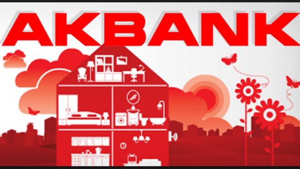 Akbank Şubeye Gitmeden İhtiyaç Kredisine Başvur