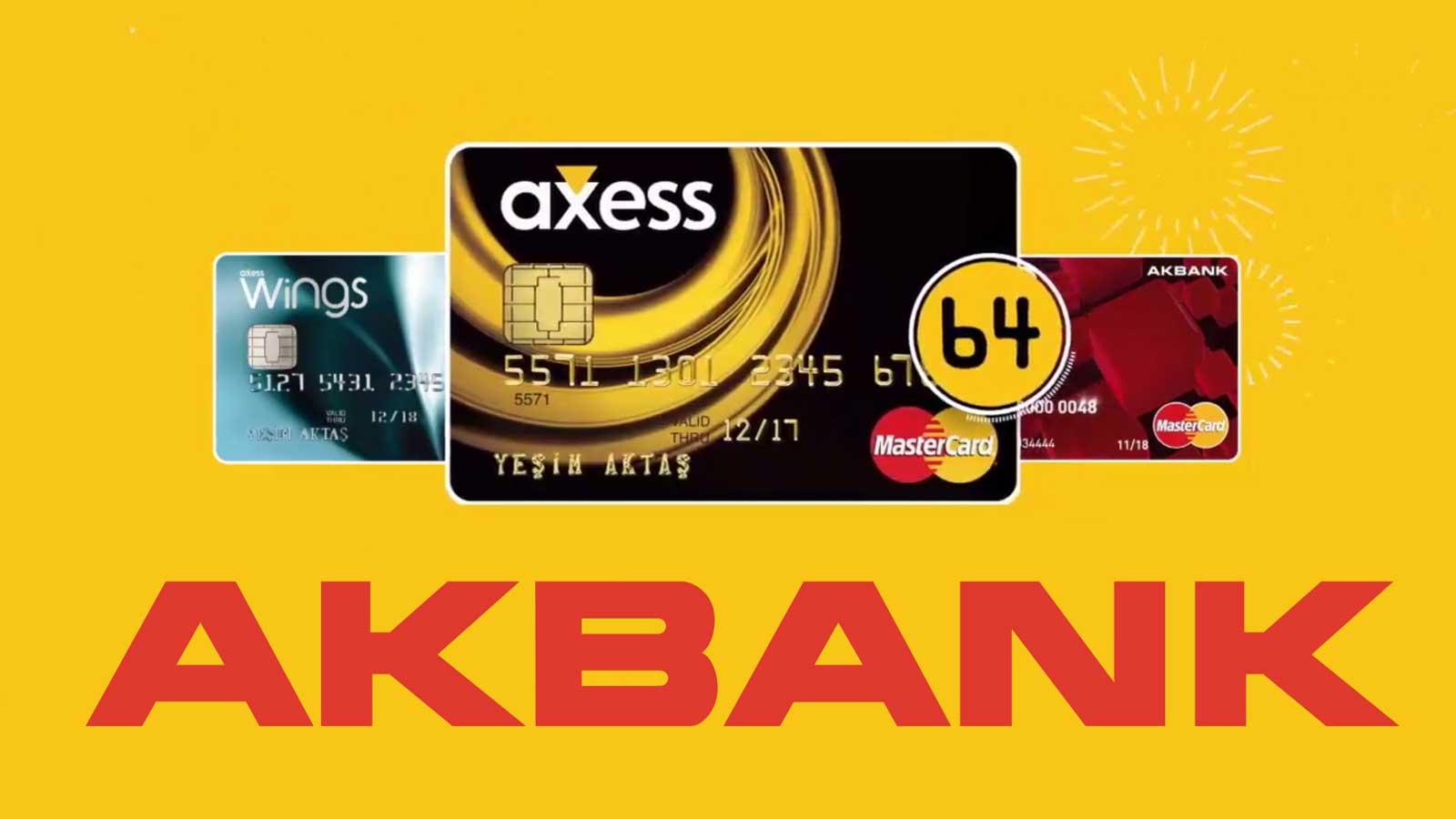Akbank Maksimum Limit Anında Onaylı Kredi Kartı